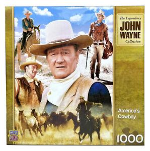 John Wayne America's Cowboys Jigsaw Puzzle 1000 Pieces New Sealed Master Pieces