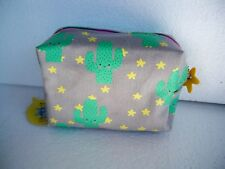 DISASTER DESIGN LINEA HI-KAWAII CACTUS MAKEUP BAG TROUSSE TRUCCHI