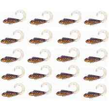 10 50mm Soft Plastic Fishing Lures Wrigglers Bream Bass Flathead Tackle Lure