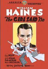 The Girl Said No DVD William Haines Sam Wood