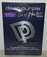 DVD DEEP PURPLE - LIVE AT MONTREUX 1996 - SEALED - SIGILLATO