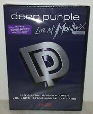 DVD DEEP PURPLE - LIVE AT MONTREUX 1996 - SEALED - SIGILLATO