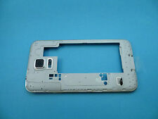 Genuine Samsung Galaxy S5 Chassis housing frame Bezel with buttons G900F Silver