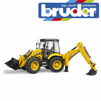 Bruder JCB 5CX Eco Backhoe Digger Loader Construction Toy Kids Model Scale 1:16