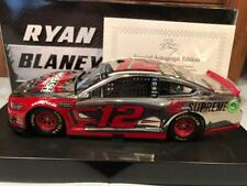Autographed 2019 Action Ryan Blaney Wabash National 1/24 Color Chrome 1 of 12