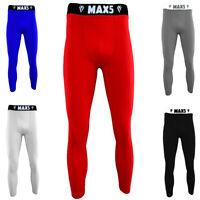 Max5 MMA BJJ Men's Spats Gym Workout Leggings No Gi Grappling Leggy Gym Tights