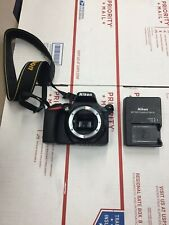 Nikon D5600 24.2MP Digital SLR Camera - Black (Body Only) Nice