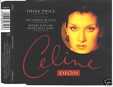 celine dion -think twice maxi cd  mint