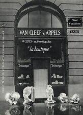 PUBLICITE VAN CLEEF & ARPELS BIJOUX PLACE VENDOME SIGNE JEAN COQUIN DE 1955 AD