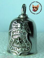 POLICE  MOTORCYCLE GREMLIN RIDE BELL **MADE IN USA**