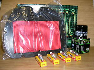 CBR600F Service Kit CBR 600 FM-FR 91-94 Air Filter Oil Filter Spark Plugs
