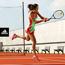 ADIDAS ANA IVANOVIC Adizero Tennis Dress Running Dance Yoga Green/CoreEnergy S