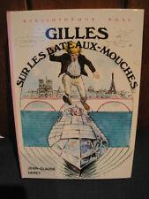 J.C.Deret -B.Rose 1975 - Gilles sur les Bateaux Mouches