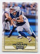 2016 Panini Playoff CHRIS HOGAN Rookie Card RC 115 New England Patriots Football