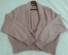Southern Lady Women's Sweater Cardigan Size XL Pinkish shade long Sleeve