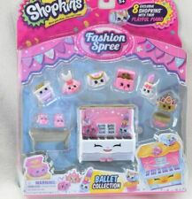 Shopkins 8 Pack Season 3 *NEW* Fashion Spree BALLET COLLECTION Playful Piano