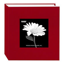 "Pioneer Cloth Frame Photo Album, 4X6"" 100 Photo Apple Red"