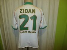 "Werder Bremen Original Kappa Heim Trikot 2004/05 ""KIK"" + Nr.21 Zidan Gr.S- M"