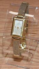 Anne Klein II (753H) Quartz Gold Tone Analog Face Women's Wrist Watch! *READ*
