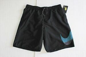 Nike Men's REPEL Swim Shorts in Size XL in Black
