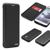 Urcover® Samsung Galaxy S7 Edge Schutzhülle Kartenfach Ständer Case Cover Etui