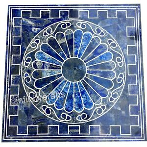 30 x 30 Inches Modern Center Table Top Heritage Art Marble Inlay Coffee Table