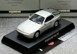 Kyosho 1/64 Porsche Collection 2 Porsche 944 S2 1989 Silver