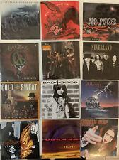12 CD Lot Rare Glam, Hair & Heavy Metal: Enuff Znuff, Bad4Good, Beau Nasty