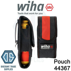 WIHA 44367 Empty Belt Pouch For SpeedE Holder Case Clip On And SlimBits Holder
