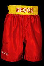 *New* Kell Brook Signed Custom Made Boxing Trunks
