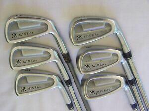 Miura CB-501 Forged Iron Set 5-PW Stiff Flex Graphite/Steel Right Handed