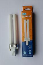Energica PL 7W 842 G23 2 PIN 4200K COOL WHITE Cfl Lampadina Lampada 380LM 10000hr