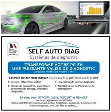 Ultimate Diag One Système de diagnostic automobile multimarque pour PC