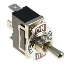 On-Off-On Standard Toggle Switch SPDT 15A 250VAC
