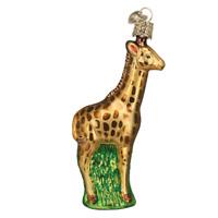"""Baby Giraffe"" (12107)X Old World Christmas Glass Ornament w/ OWC Box"