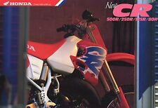 1993 HONDA  CR500RP CR250 CR125 CR80  6 Page Motorcycle Brochure NCS