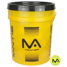 NEW Mantis Value Bucket of Tennis Balls - Cheap tub of 60 training tennis balls