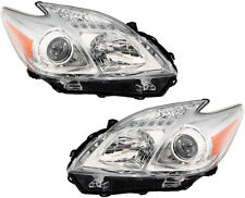 OE Replacement Headlights Headlamps NEW Pair Set for 10-11 Toyota Prius