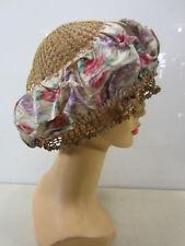 Antique Crocheted Ladies Lace Night Cap