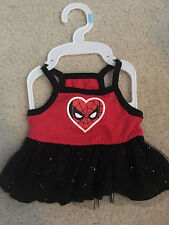 New Top Paw Dog Puppy Dress Red Spiderman Tutu S SMALL
