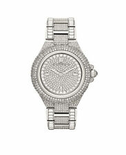 MICHAEL KORS MK5869 Camille Crystal Pave Quartz Stainless Steel Watch