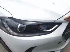 Headlight Eyebrow Eyelid Eyeline Cover Trim For Hyundai Elantra AD Avante 2016