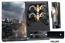 Skin for XBOX ONE 1 Console 2 Controller Graphics Sticker Wraps Decal FALLEN