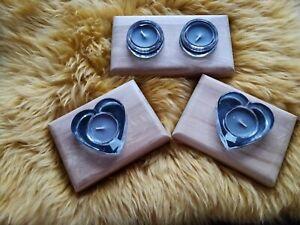 Handmade tea light holder