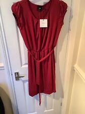 Red Maternity Dress Size 16 BNWT
