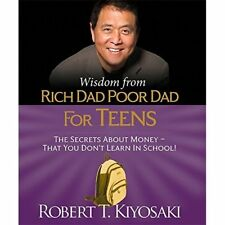 MINI Edition - Wisdom from Rich Dad, Poor Dad for Teens - Hardcover NEW Robert K