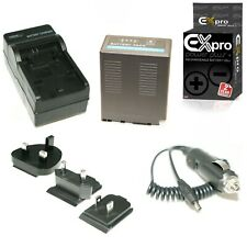 Ex-Pro VW-VBG6 Mains Camera Charger & Battery for P@ AG-HMC150 HMC151