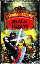 Combat Heroes 1 - Black Baron by Joe Dever Paperback Book - Good
