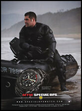 MTM Special Ops watch print ad 2008 raft