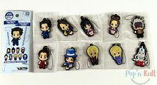Full Set x 10 Ace Attorney Rubber Strap Collection Vol. 1 Gyakuten Saiban D4 NEW